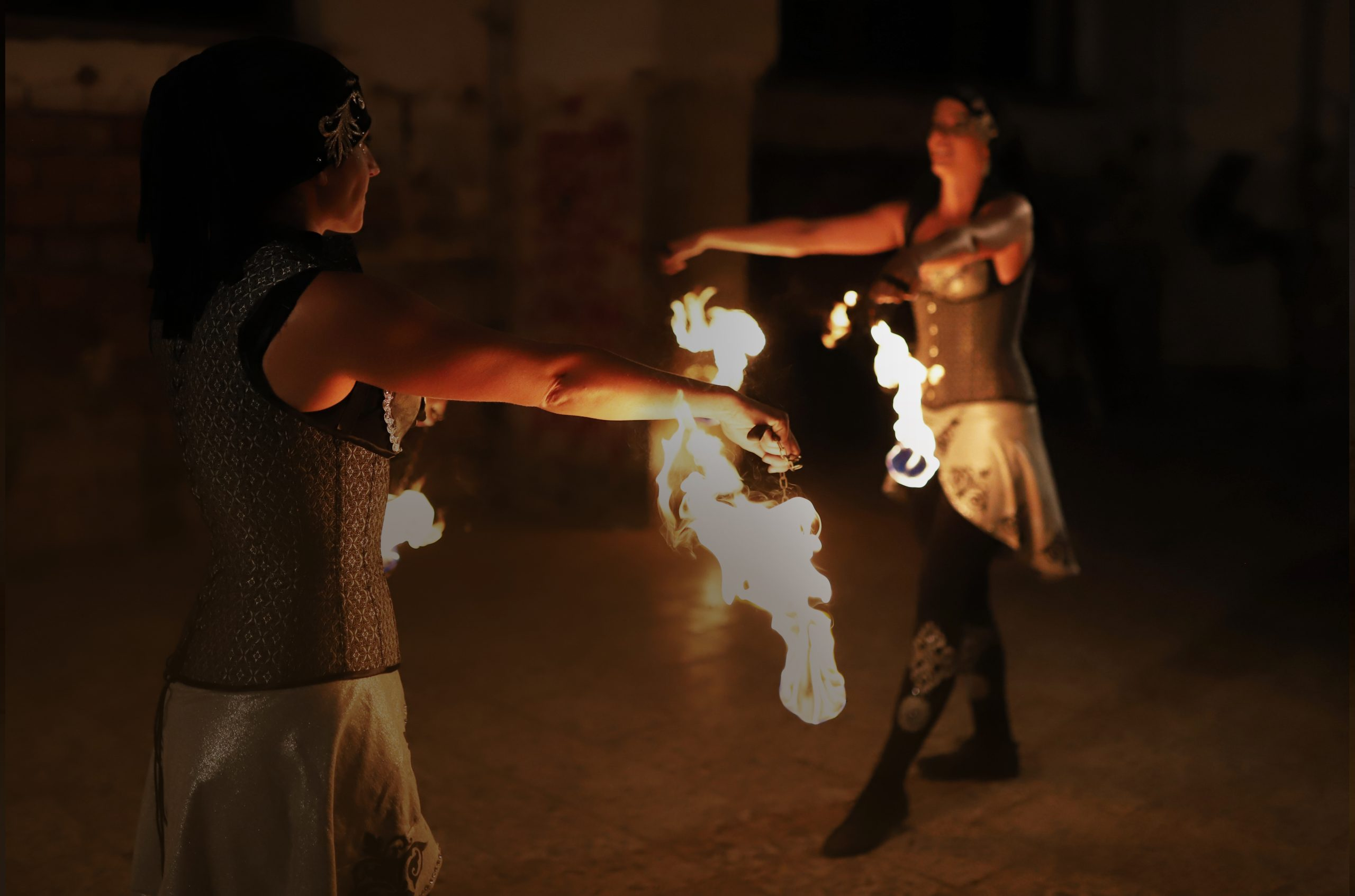Flaming Art - ohňová show Ilusias