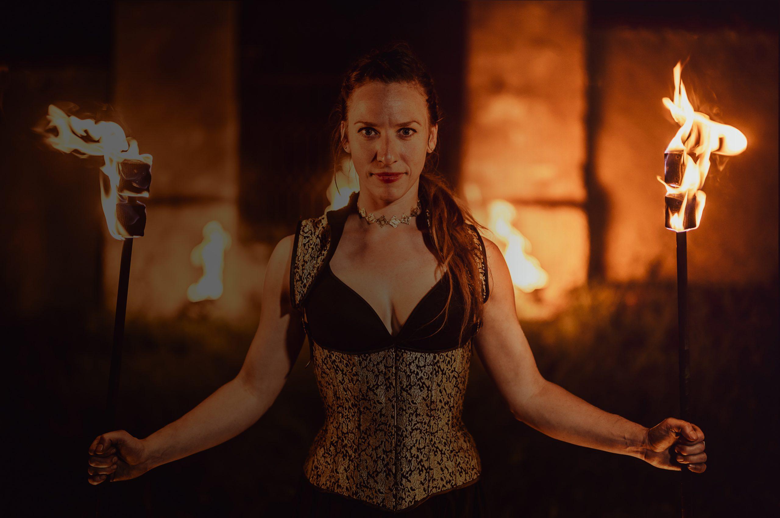 Ilusias fireshow - The Game