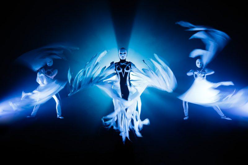 Blue Illusion - UV show Ilusias