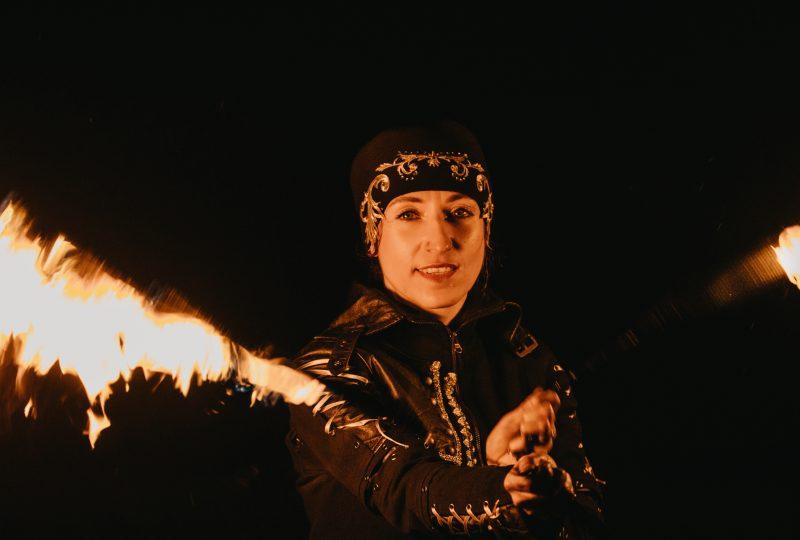 Ilusias - zimní fireshow