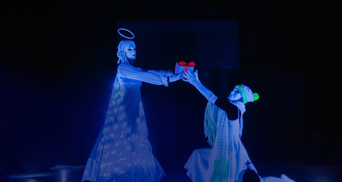Kouzlo Vánoc UV lightshow Ilusias
