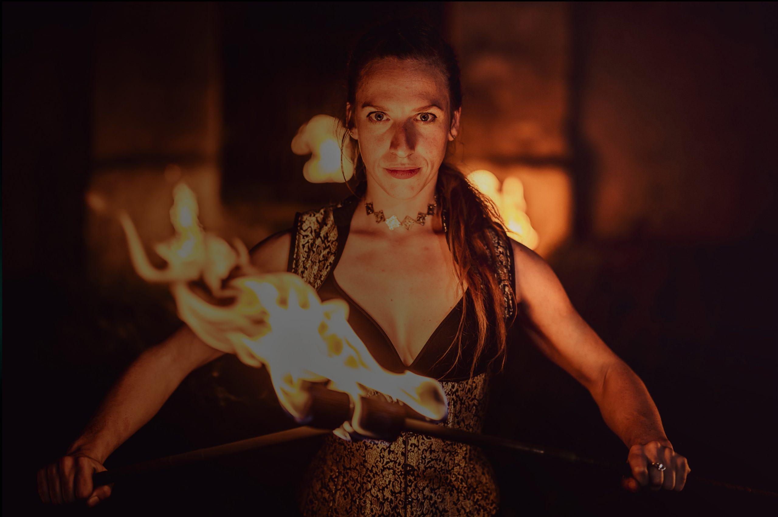 Ilusias - fireshow